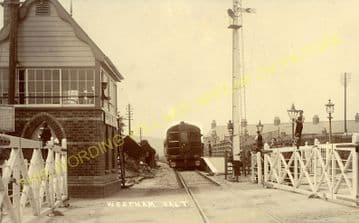 Westham Railway Station Photo. Melcombe Regis - Rodwell. Portland Line. (7).