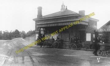 Weybridge Railway Station Photo. Walton - Byfleet. Esher to Woking Line. (3)