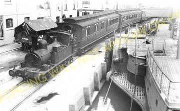 Weymouth Harbour Railway Station Photo. Upwey Line. Great Western Railway. (1)..