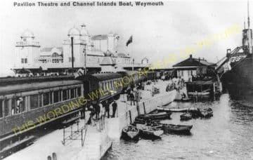 Weymouth Harbour Railway Station Photo. Upwey Line. Great Western Railway. (10)