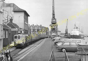 Weymouth Harbour Railway Station Photo. Upwey Line. Great Western Railway. (12)