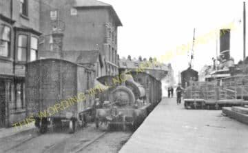 Weymouth Harbour Railway Station Photo. Upwey Line. Great Western Railway. (16)