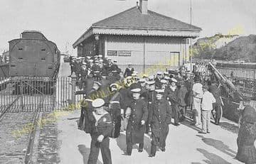 Weymouth Harbour Railway Station Photo. Upwey Line. Great Western Railway. (20)