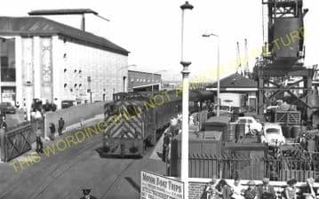 Weymouth Harbour Railway Station Photo. Upwey Line. Great Western Railway. (21)