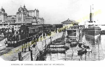 Weymouth Harbour Railway Station Photo. Upwey Line. Great Western Railway. (22)