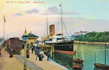 Weymouth Harbour Railway Station Photo. Upwey Line. Great Western Railway. (23)