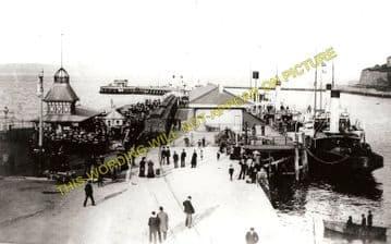 Weymouth Harbour Railway Station Photo. Upwey Line. Great Western Railway. (3)