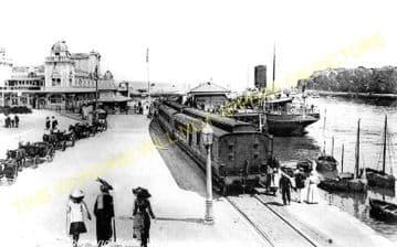 Weymouth Harbour Railway Station Photo. Upwey Line. Great Western Railway. (5)