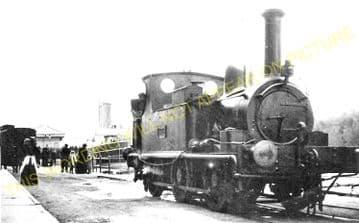 Weymouth Harbour Railway Station Photo. Upwey Line. Great Western Railway. (6)