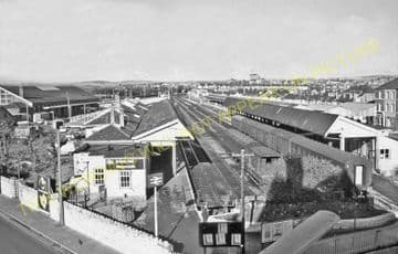 Weymouth Town Railway Station Photo. Radipole and Dorchester Line. GWR. (10)..