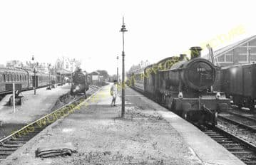 Weymouth Town Railway Station Photo. Radipole and Dorchester Line. GWR. (11)