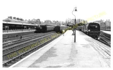 Weymouth Town Railway Station Photo. Radipole and Dorchester Line. GWR. (5)