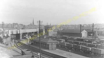 Whifflet Low Level Railway Station Photo. Coatbridge Area. North British Rly (1)..