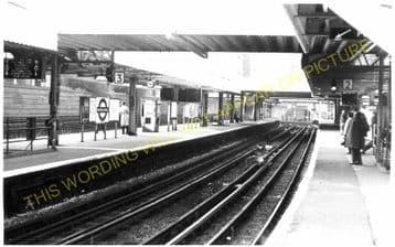 Whitechapel Railway Station Photo. Aldgate - Stepney Green. Underground. (1)..