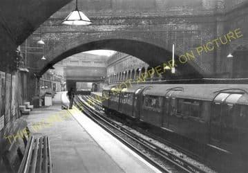 Whitechapel Railway Station Photo. Aldgate - Stepney Green. Underground. (3)