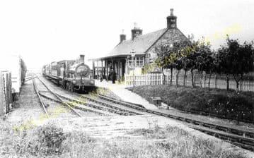 Whithorn Railway Station Photo. Millisle Line. Portpatrick & Wigtownshire. (3)