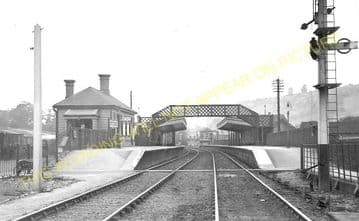 Whyteleafe Railway Station Photo. Caterham - Kenley. Purley Line. SE&CR. (1)