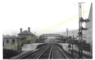 Whyteleafe Railway Station Photo. Caterham - Kenley. Purley Line. SE&CR. (5)