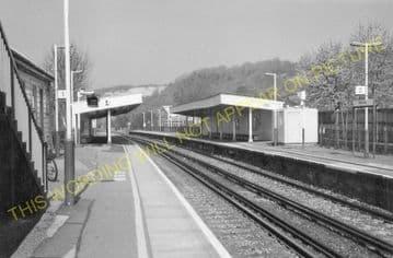 Whyteleafe Railway Station Photo. Caterham - Kenley. Purley Line. SE&CR. (7)