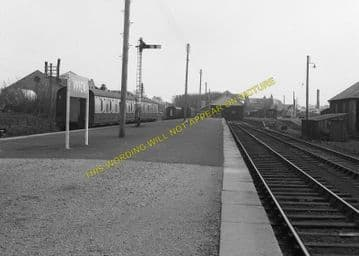 Wick Railway Station Photo. Georgemas and Lybster Lines. Highland Railway. (3)