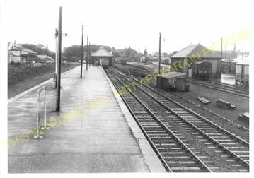 Wick Railway Station Photo. Georgemas and Lybster Lines. Highland Railway. (9)