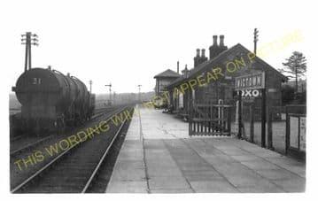 Wigtown Railway Station Photo. Newton Stewart - Whithorn. P&WJR. (1)..
