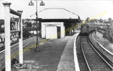 Wimbledon Chase Railway Station Photo. Wimbledon - South Merton. Sutton Line (1)..