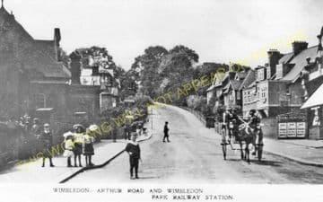 Wimbledon Park Railway Station Photo. Wimbledon - Southfields. Putney Line. (6)