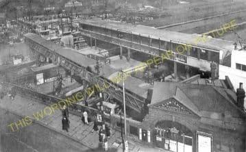 Wimbledon Railway Station Photo. London & South Western Railway. (10)