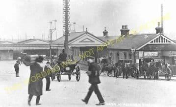Wimbledon Railway Station Photo. London & South Western Railway. (11)