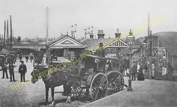 Wimbledon Railway Station Photo. London & South Western Railway. (12)