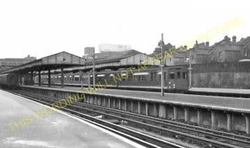 Wimbledon Railway Station Photo. London & South Western Railway. (14)