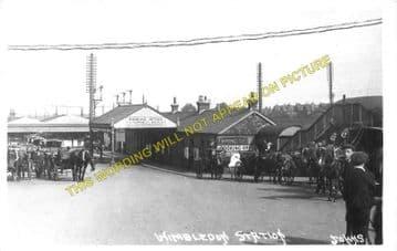Wimbledon Railway Station Photo. London & South Western Railway. (8)