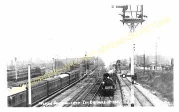 Woking Railway Station Photo. Byfleet to Brookwood and Worplesdon Lines. (8)