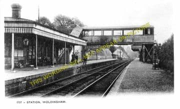 Woldingham Railway Station Photo. Warlingham - Oxted & Limpsfield Line (1)