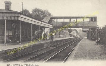 Woldingham Railway Station Photo. Warlingham - Oxted & Limpsfield Line. (7)