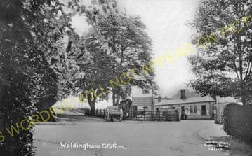 Woldingham Railway Station Photo. Warlingham - Oxted & Limpsfield Line. (8).