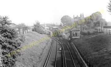 Woodside & South Norwood Railway Station Photo. Elmers End - Addiscombe Road (1)