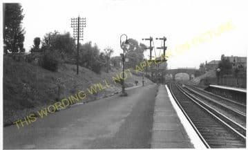 Woodside & South Norwood Railway Station Photo. Elmers End - Addiscombe Road (7).