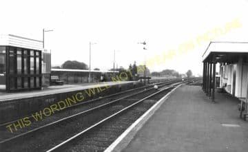 Wool Railway Station Photo. Wareham - Moreton. Bournemouth to Dorchester. (10)