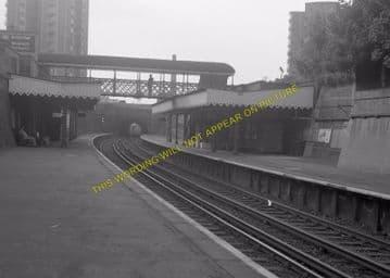 Woolwich Dockyard Railway Station Photo. Charlton - Plumstead. SE&CR (19)