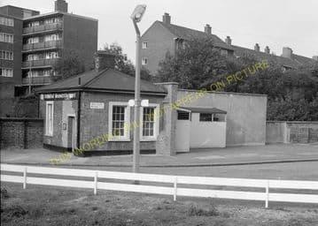 Woolwich Dockyard Railway Station Photo. Charlton - Plumstead. SE&CR (9)