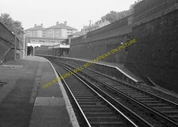 Woolwich Dockyard Railway Station Photo. Charlton - Plumstead. SE&CR. (3)