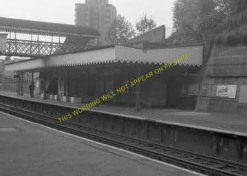 Woolwich Dockyard Railway Station Photo. Charlton - Plumstead. SE&CR. (7)