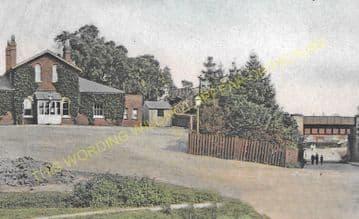Worcester Park Railway Station Photo. Motspur Park - Ewell. Epsom Line. LSWR (3)