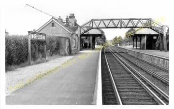 Worplesdon Railway Station Photo. Woking - Guildford. L&SWR. (2)
