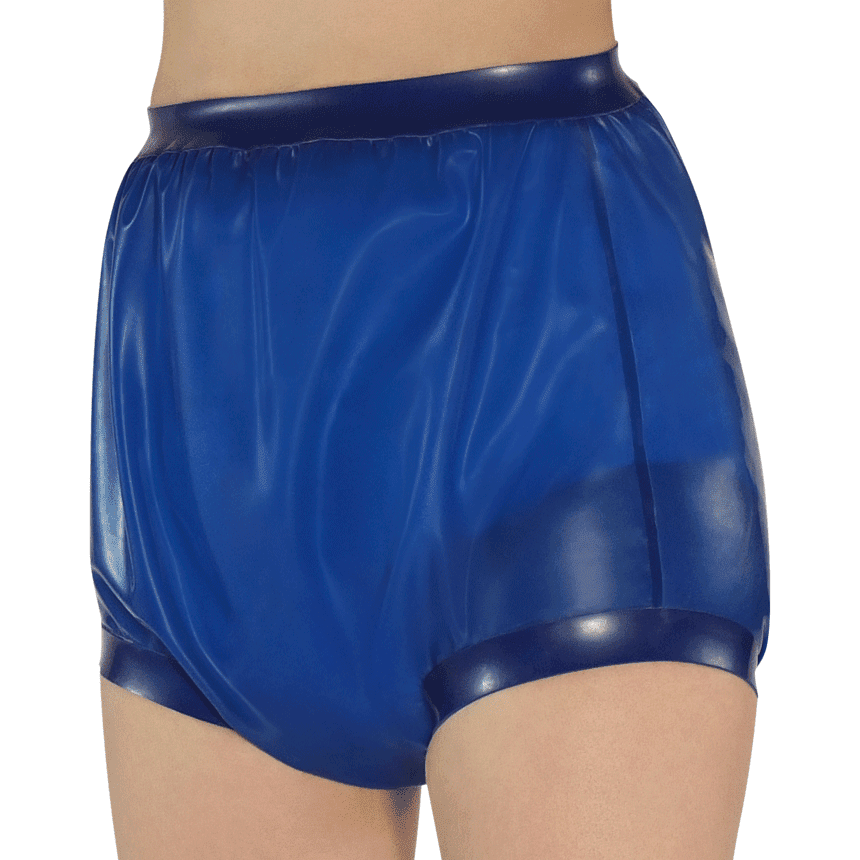Rubber Pants with wide thigh bands - Inkoswiss