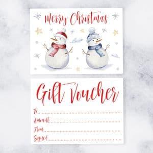 Blank Gift Vouchers