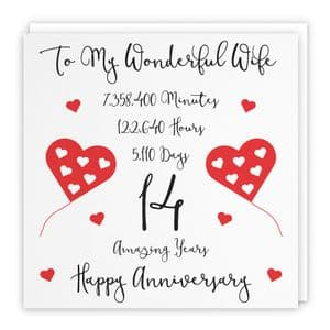 Relations Anniversary Cards