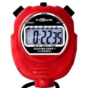 Fastime 01 (Red) Stopwatch